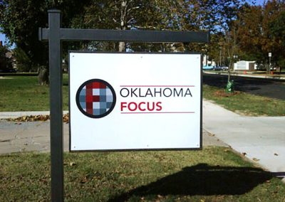Oklahoma Focus Sign